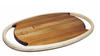 Two handled rimu serving board